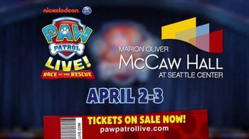 PAW Patrol Live! TV Spot, '2018 Race to the Rescue: McCaw Hall' - Thumbnail 10