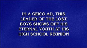 GEICO TV Spot, 'Jeopardy!: Peter Pan'