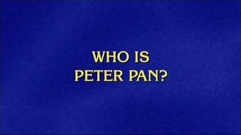 GEICO TV Spot, 'Jeopardy!: Peter Pan'