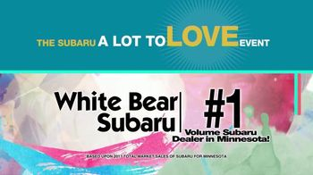 Subaru A Lot to Love Event TV Spot, 'Enjoy the Savings' - Thumbnail 10
