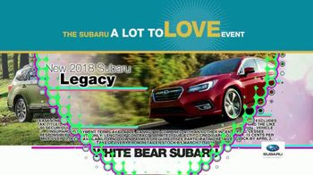 Subaru A Lot to Love Event TV Spot, 'Enjoy the Savings' - Thumbnail 6