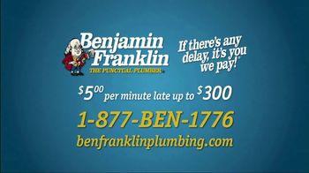 Benjamin Franklin Plumbing TV Spot, 'Punctual Plumber' - Thumbnail 7