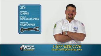 Benjamin Franklin Plumbing TV Spot, 'Punctual Plumber' - Thumbnail 2