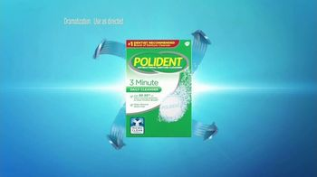 Polident Daily Cleanser TV Spot, 'Are Your Dentures Really Clean?' - Thumbnail 5