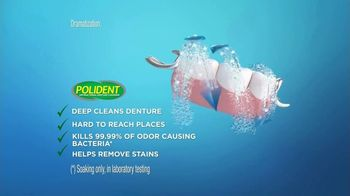 Polident Daily Cleanser TV Spot, 'Tough on Bacteria' - Thumbnail 7