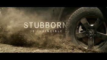 Mercedes-Benz G-Class TV Spot, 'Stubborn Is Invincible'