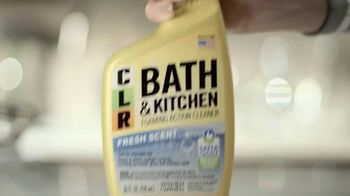 CLR Bath & Kitchen TV Spot, 'A Little Cleaner' - Thumbnail 6
