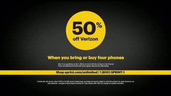 Sprint Ultimate Unlimited TV Spot, 'Gives You More' - Thumbnail 9