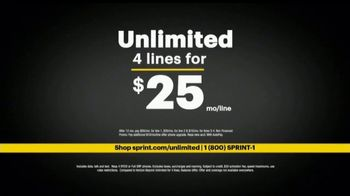 Sprint Ultimate Unlimited TV Spot, 'Gives You More' - Thumbnail 8