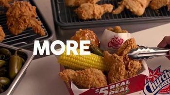 Church's Chicken Restaurants $5 Real Big Deal TV Spot, 'Choices' - Thumbnail 4