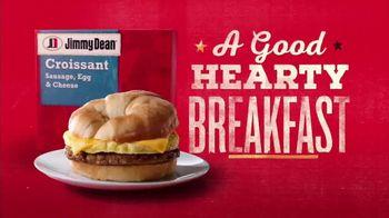 Jimmy Dean Croissant TV Spot, 'Warm It Up' - Thumbnail 4