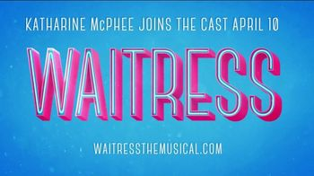 Waitress the Musical TV Spot, 'Katharine McPhee Joins the Cast' - Thumbnail 10