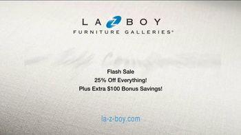 La-Z-Boy Flash Sale TV Spot, 'Cozy to Spacious' - Thumbnail 10