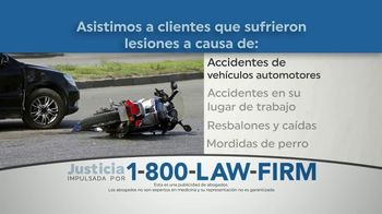 1-800-LAW-FIRM TV Spot, 'Accidente previsible' [Spanish] - Thumbnail 4