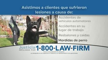 1-800-LAW-FIRM TV Spot, 'Accidente previsible' [Spanish] - Thumbnail 5