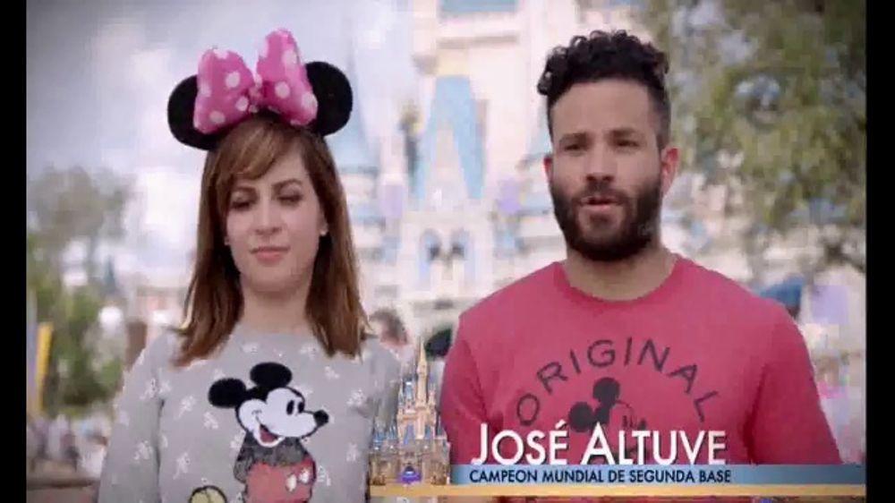 Walt Disney World TV Commercial, 'Momentos m??gicos' con Jos?? Altuv??