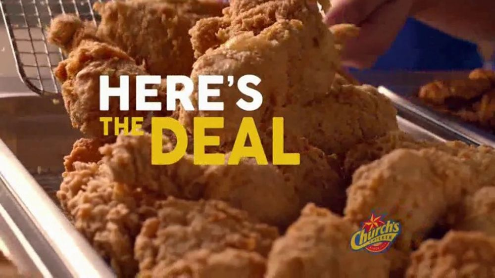 Church 39 s chicken 15 real big family deal tv commercial for Family deal com