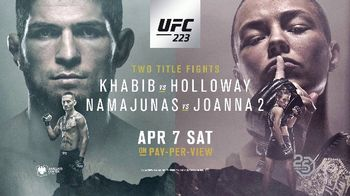 UFC 223 TV Spot, 'Khabib vs. Holloway: Two Title Fights' - Thumbnail 9