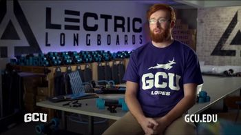 Grand Canyon University TV Spot, 'Student Testimonial: Lectric Longboards'