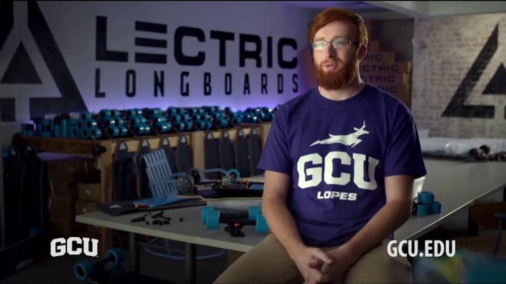 Grand Canyon University TV Commercial, \'Student Testimonial: Lectric ...
