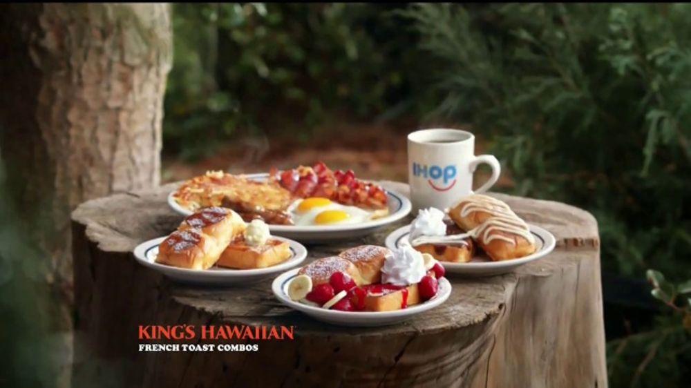IHOP King's Hawaiian French Toast Combos TV Commercial, 'La naturaleza'