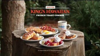 IHOP King's Hawaiian French Toast Combos TV Spot, 'La naturaleza' [Spanish] - Thumbnail 10