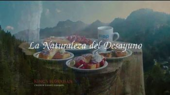 IHOP King's Hawaiian French Toast Combos TV Spot, 'La naturaleza' [Spanish] - Thumbnail 2