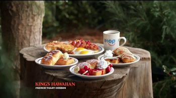 IHOP King's Hawaiian French Toast Combos TV Spot, 'La naturaleza' [Spanish] - Thumbnail 3