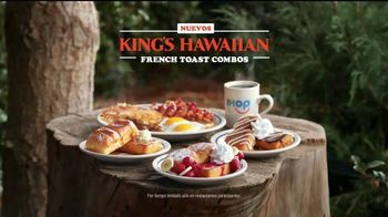 IHOP King's Hawaiian French Toast Combos TV Spot, 'La naturaleza' [Spanish] - Thumbnail 9