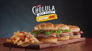 Jack in the Box Cholula Buttery Jack TV Spot, 'Third One Today' - Thumbnail 10