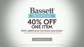 Bassett Pre-Easter Sale TV Spot, '40 Percent Off One Item' - Thumbnail 8