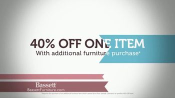 Bassett Pre-Easter Sale TV Spot, '40 Percent Off One Item' - Thumbnail 6