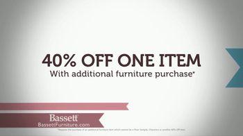 Bassett Pre-Easter Sale TV Spot, '40 Percent Off One Item' - Thumbnail 7