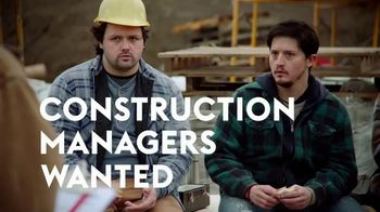 Monster TV Spot, 'Construction Managers Wanted' - Thumbnail 6