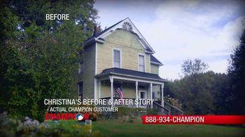 Champion Windows Spring Sale-A-Bration TV Spot, 'Christina's Story' - Thumbnail 1