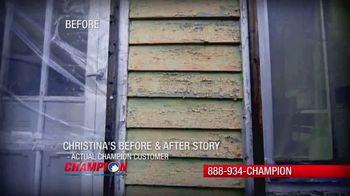 Champion Windows Spring Sale-A-Bration TV Spot, 'Christina's Story' - Thumbnail 2