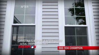 Champion Windows Spring Sale-A-Bration TV Spot, 'Christina's Story' - Thumbnail 3