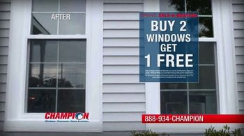 Champion Windows Spring Sale-A-Bration TV Spot, 'Christina's Story'