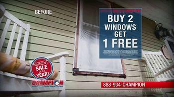 Champion Windows Spring Sale-A-Bration TV Spot, 'Christina's Story' - Thumbnail 7