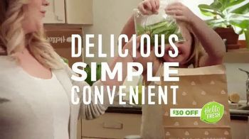 HelloFresh TV Spot, 'Quick and Easy Routine'