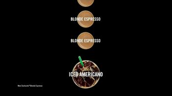 Starbucks Blonde Espresso TV Spot, 'Iced Blonde Americano March' - Thumbnail 5