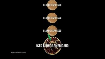 Starbucks Blonde Espresso TV Spot, 'Iced Blonde Americano March' - Thumbnail 6