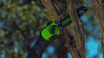 GreenWorks Pro TV Spot, 'Creative Vision' - Thumbnail 5