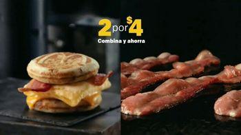McDonald's 2 for $4 Breakfast Sandwiches TV Spot, 'Delicioso' [Spanish] - Thumbnail 2