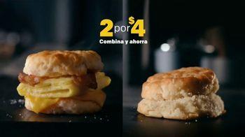 McDonald's 2 for $4 Breakfast Sandwiches TV Spot, 'Delicioso' [Spanish] - Thumbnail 3