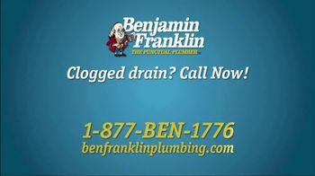 Benjamin Franklin Plumbing TV Spot, 'Slow or Clogged Drain?' - Thumbnail 7