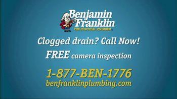 Benjamin Franklin Plumbing TV Spot, 'Slow or Clogged Drain?' - Thumbnail 8