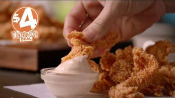 Popeyes $4 Wicked Good Deal TV Spot, 'Perfect for Dipping' - Thumbnail 7