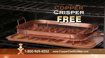 Copper Chef Grill Mat TV Spot, 'Makes Grilling Easier' - Thumbnail 9