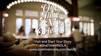 New Orleans Tourism TV Spot, 'One Time: Family' - Thumbnail 9